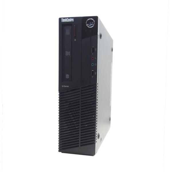 特価 中古 パソコン ★ Lenovo ThinkCentre M92p Small 省スペース デスクトップ 高性能 4コア WPS Office付き Windows10 Pro 【Core i7-3770/8GB/500GB/MULTI】