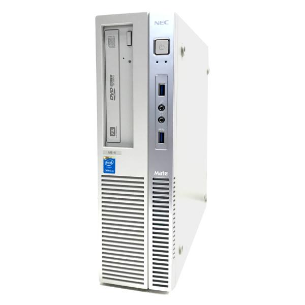 中古 パソコン ★ NEC Mate MK37L/B-N 省スペース デスクトップ WPS Office付き Windows10 Home 【Core i3-4170/8GB/500GB/MULTI】