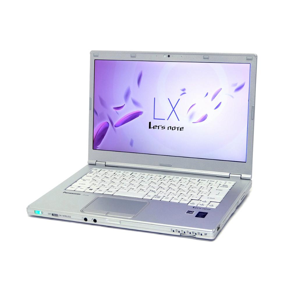 中古 パソコン ★ Panasonic Let'snote CF-LX4 訳あり 外観難あり B5 ノートパソコン 14インチ 軽量 モバイル 高性能 1600x900表示 無線LAN WPS Office付き Windows8.1 Pro 【Core i5-5300U/4GB/128GB SSD】