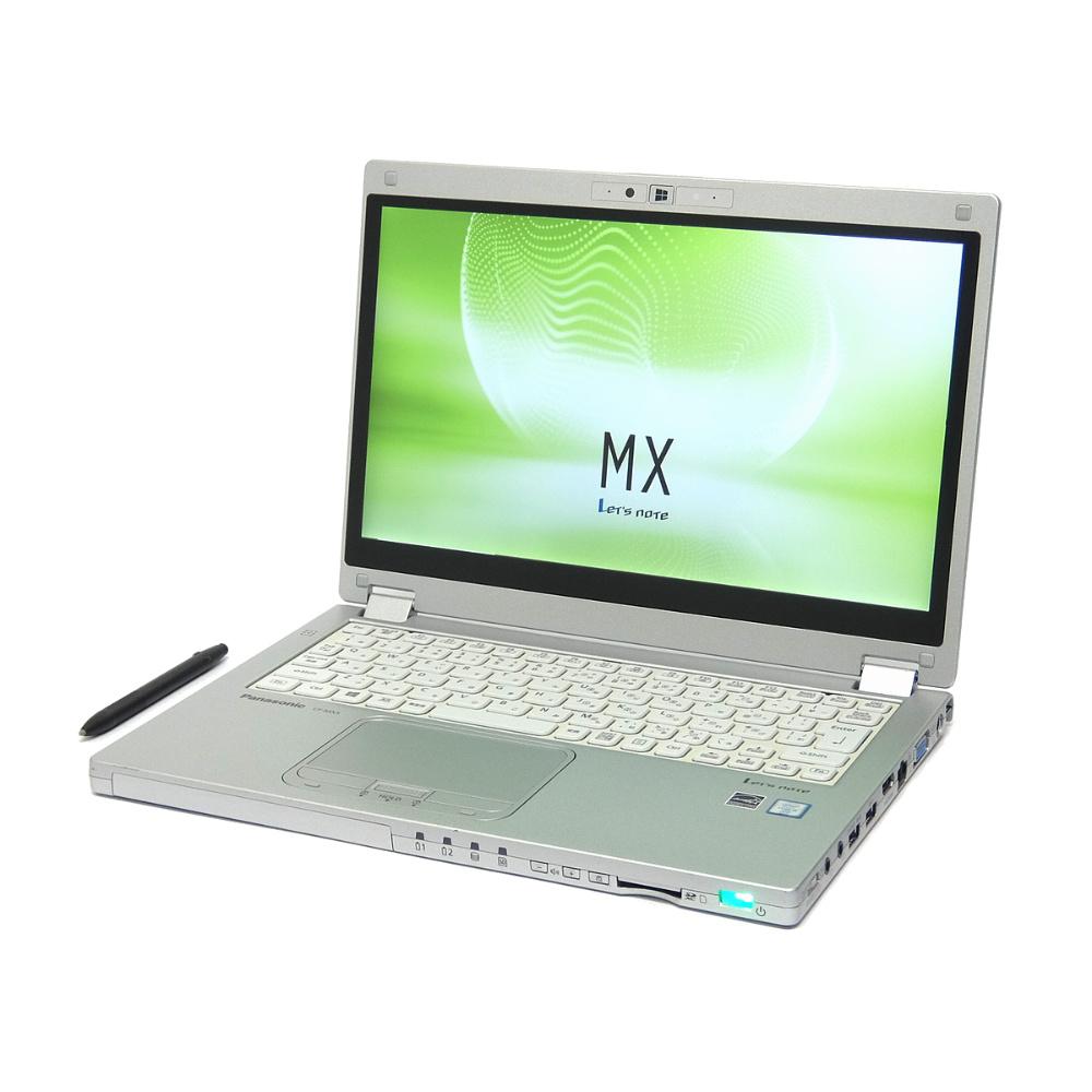 中古 パソコン ★ Panasonic Let's note CF-MX5 訳あり 外観難あり B5 2in1 ノートパソコン 12.5インチ フルHD カメラ ac 無線LAN WPS Office付き Windows10 Pro 【Core i5-6300U/8GB/256GB SSD】