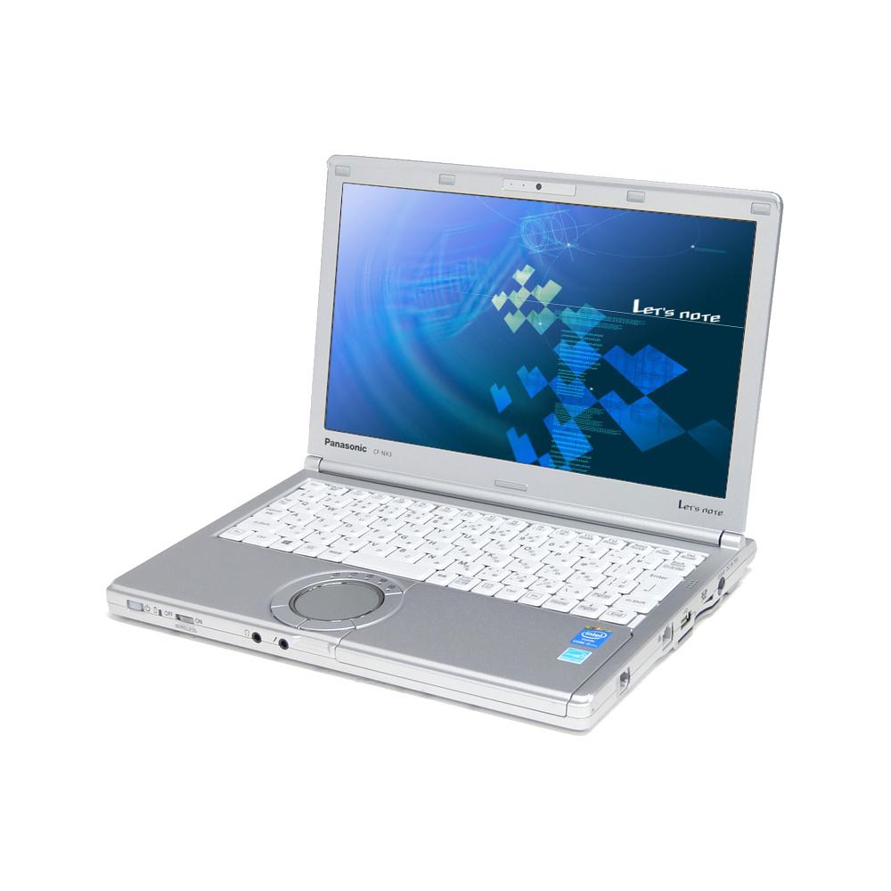 中古 パソコン ★ Panasonic Let's note CF-NX3 訳あり 外観難あり B5 ノートパソコン 12.1インチ HD+ 高性能 軽量 モバイル カメラ 無線LAN WPS Office付き Windows8.1 Pro 【Core i5-4300U/4GB/128GB SSD】