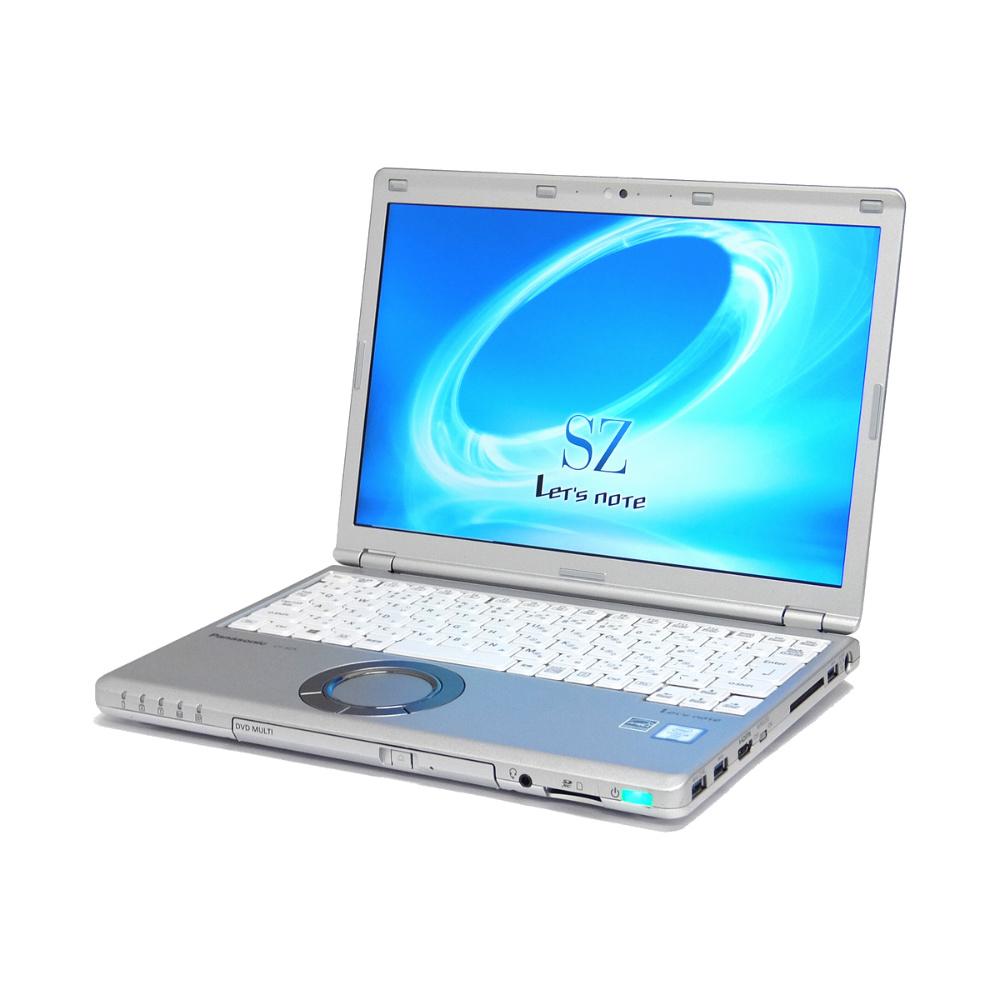 中古 パソコン ★ Panasonic Let'snote SZ5 訳あり 画面に傷あり B5 ノートパソコン 12.1インチ WUXGA 11ac 無線LAN カメラ HDMI WPS Office付き Windows10 Pro 【Core i5-6200U/4GB/128GB SSD/MULTI】