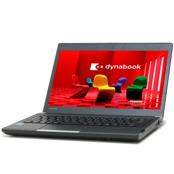 中古 パソコン ★ 東芝 dynabook R734 B5 ノートパソコン 13.3インチ HDMI 無線LAN WPS Office付き Windows10 Home 【Core i5-4300M/4GB/320GB】