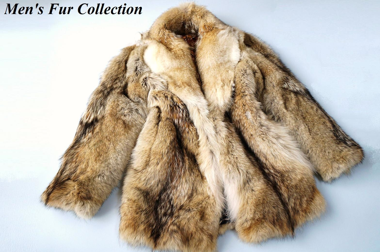 e-fur | Rakuten Global Market: SALE! In the men's prairie wolf fur ...