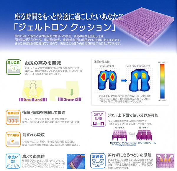 3Dフォーム・Mサイズ ジェルトロン+ …送料無料… GELTRON 【エントリーで全品P5倍】 / ジェルトロンクッション
