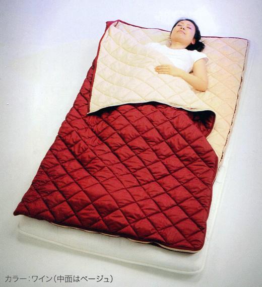 HEATRAY天然鉱石含有寝具 パワーアップ寝袋 …送料無料…