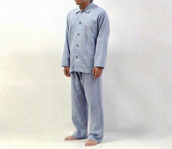 【エントリーで最大20倍 3/28 10:00~3/31 9:59】こころくるむパジャマ(メンズ) 和晒 京ふたえガーゼ