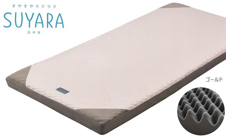 西川のラクラ RAKURA が新ブランドで登場 西川 人気商品 SUYARA 販売 シングル スヤラ SU-01 マットレス 厚さ9cm