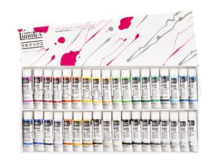 リキテックス アクリル絵具伝統色Bセット(6号チューブ) 36色