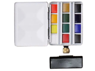 アクアファイン・SPメタルボックス水筒付12色セット
