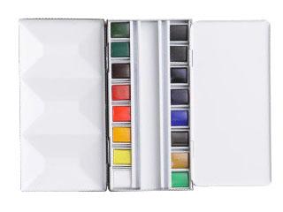 アクアファイン・SPメタルボックス16色セット