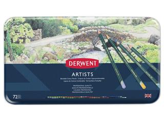 ダーウェント・アーティスト色鉛筆 72色セット 缶入