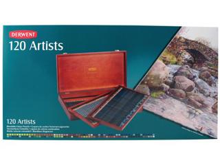 ダーウェント・アーティスト色鉛筆 120色ウッドボックス