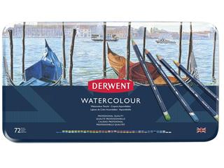 ダーウェント・ウォーターカラーペンシル 72色セット