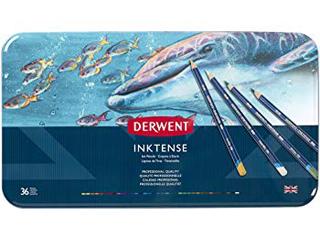 ダーウェント・水彩色鉛筆 インクテンス 36色セット