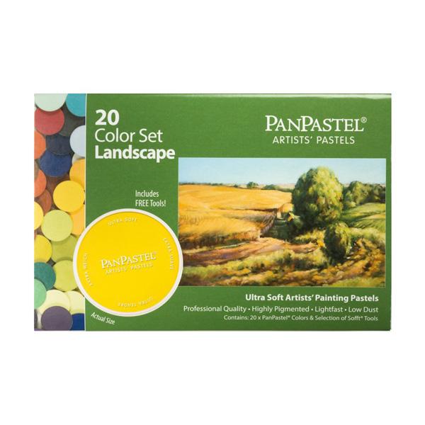 パンパステル 20色セット ランドスケープ