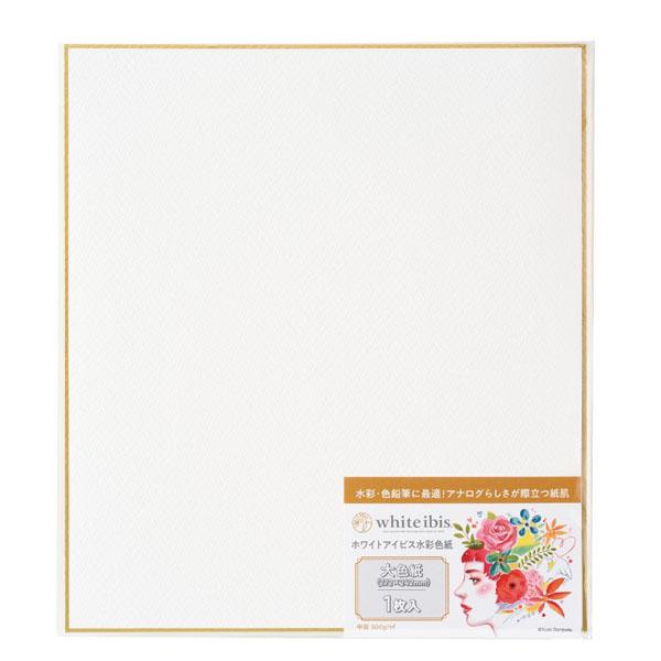 画材 水彩紙 色紙 ホワイトアイビス水彩色紙 大色紙 新商品 人気ブレゼント!