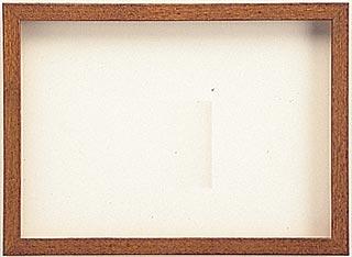 木製デッサン額 ♯10514 オーク色フレーム(ガラス付) 全紙