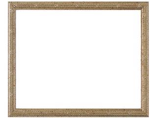 木製デッサン額 MS160 銀箔色フレーム(ガラス付) A3