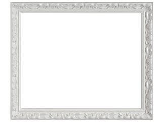 木製デッサン額 MS230 ホワイト5分消色フレーム(アクリル付) 半切