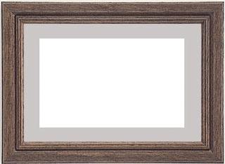 木製デッサン額 ♯11011 オリーブ色フレーム(マット・ガラス付) 三三