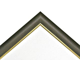 画材 額 額縁 仮額 仮額縁 ブラウン色フレーム 年中無休 P-120 木製仮縁 アウトレット 面金ゴールド フリーフレームB型
