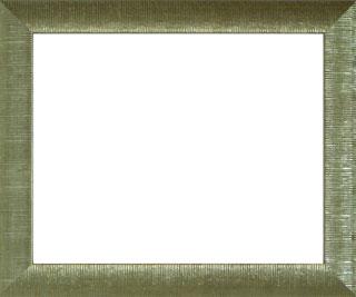 樹脂製デッサン額 SF300 銀箔色フレーム(アクリル付) 大全紙
