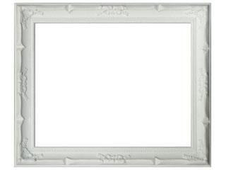 木製デッサン額 デコール ホワイトフレーム(ガラス付) 太子