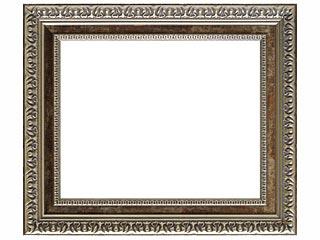樹脂製デッサン額 SF460 銀箔色フレーム(ガラス付) 三三