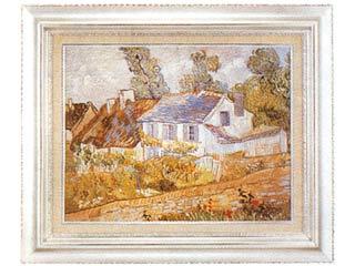 オーヴェールの家々(ゴッホ) P10号
