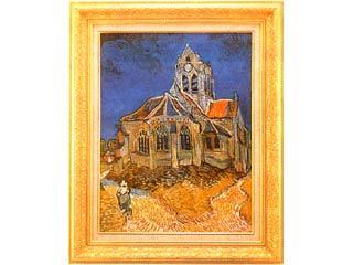 オーヴェールの教会(ゴッホ) P15号