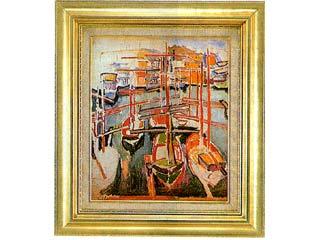 マルセーユの古い港(デュフィ) F8号