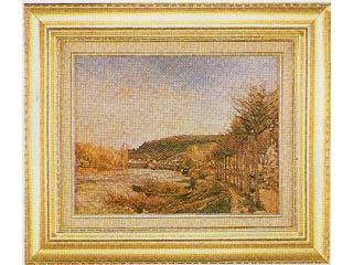 ブージヴァールのセーヌ河(ピサロ) F6号