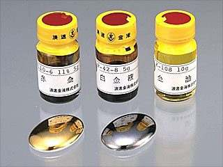陶芸/赤金液 金濃度11% 5cc