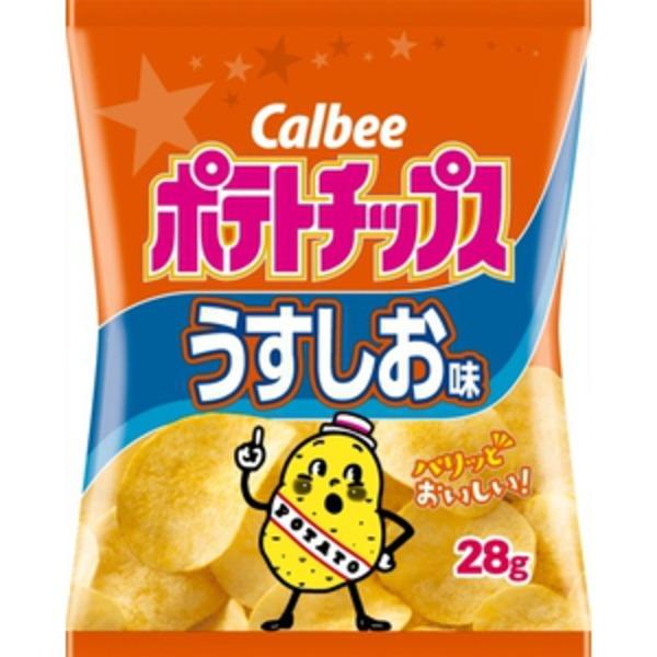 ポテトチップスうすしお味(28g)