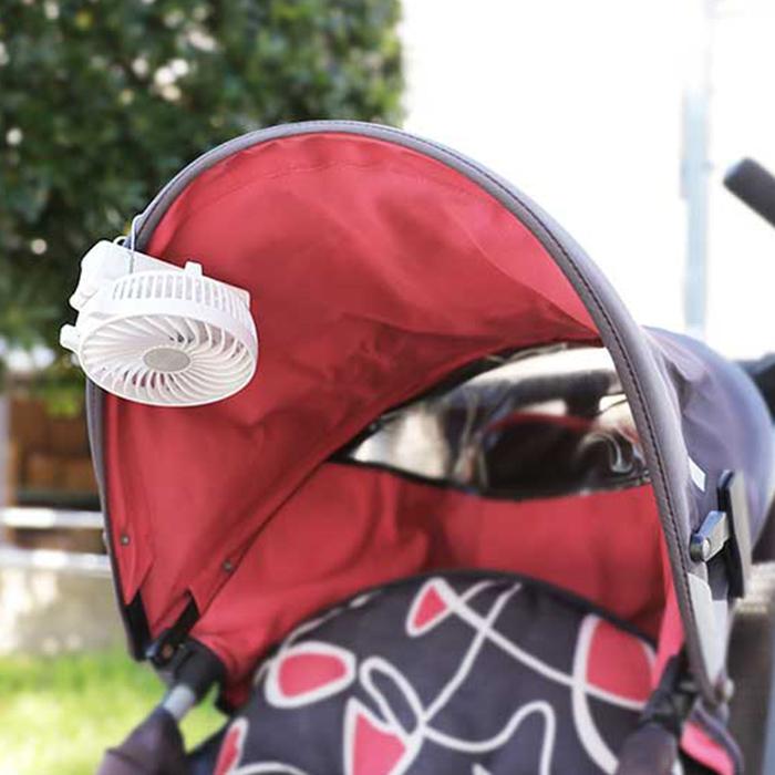 ハンディファン 充電式 ミニ扇風機 手持ち扇風機 持ち運び 携帯 ハンディーファン  PR-F015 2個セット ポータブルファン ホワイト ピンク ネイビー PRISMATE プリズメイト【ポイント10倍】