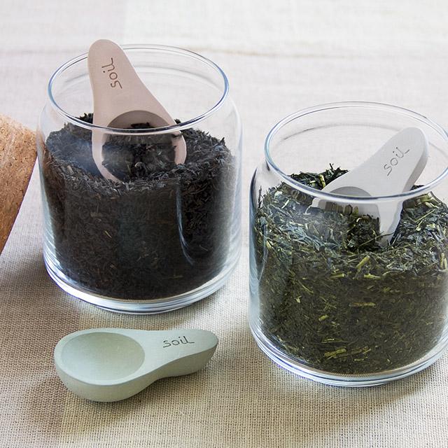 soil 茶さじ ソイル CHA-SAJI 茶匙 soilちゃさじ soilチャサジ 営業 珪藻土 珪藻土茶さじ 調湿 乾燥 プチギフト 正規店 《週末限定タイムセール》 新生活 ギフト キッチン 母の日 茶葉 一つで二役 ソイルブランド イスルギ