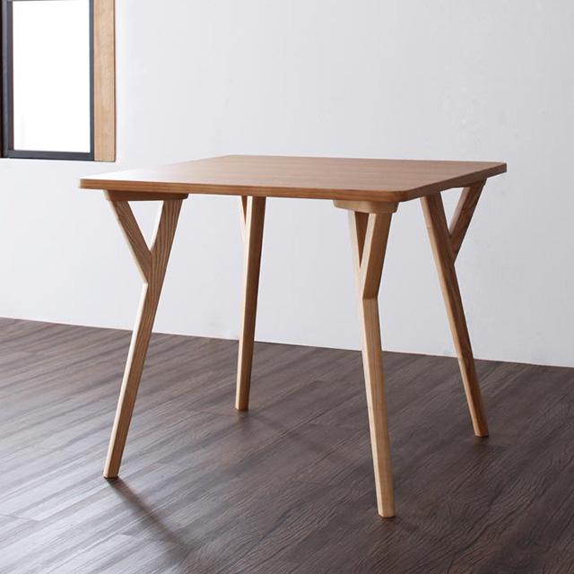 ILALI(イラーリ) テーブル80cm (ダイニングテーブル 木製テーブル 2人用 幅80cm)