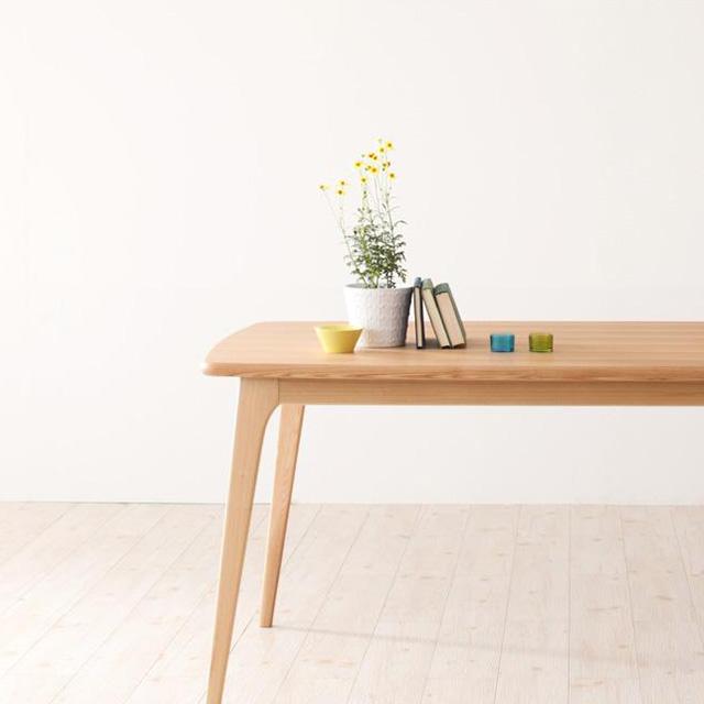 Onnell(オンネル) テーブル150cm(ダイニングテーブル 木製テーブル 幅150cm)