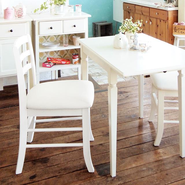 ine reno チェア (天然木 デスクチェア ホワイト家具 椅子 白家具 モノトーン シック ウレタン ディープグレー シンプルチェア コンパクト 一人暮らし ナチュラル かわいい アンティーク風 クラシカル 木製椅子 おしゃれ)