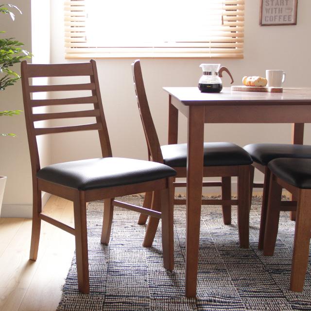 ダイニングチェア 2脚セット Sola(ダイニングチェア ダイニング チェア イス 椅子 天然木 ブラウン 木製 シンプルカフェ 食卓 おしゃれ キッチン 人気 おすすめ)