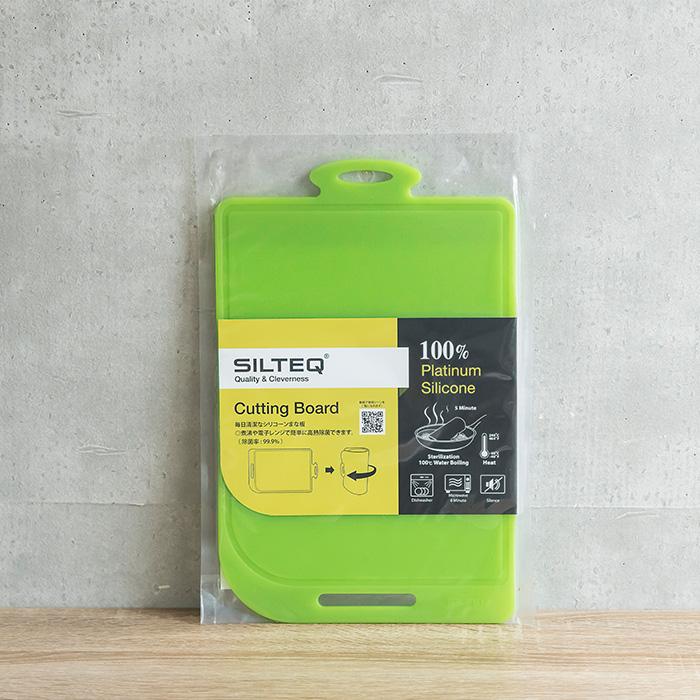 SILTEQ きれいのミカタ 丸めて煮沸除菌できるまな板