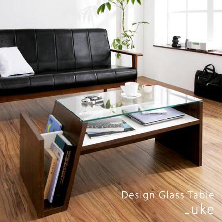デザインガラステーブル ルーク