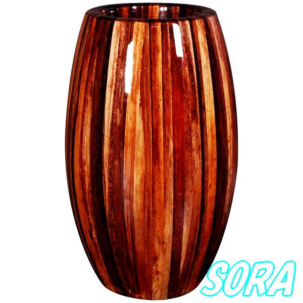 鼓型プランター小(アバカ) 30*65cm