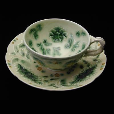陶楽陶苑 森里陶楽観翠 紅茶碗