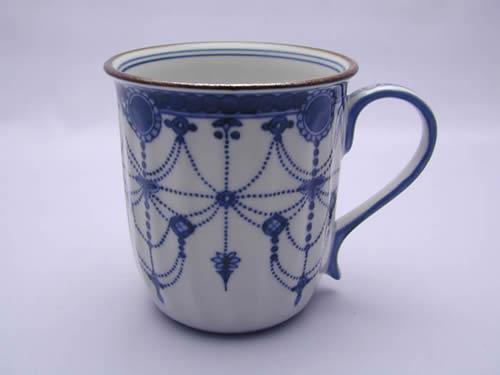 壹楽窯 山本壹楽瓔珞紋マグカップ
