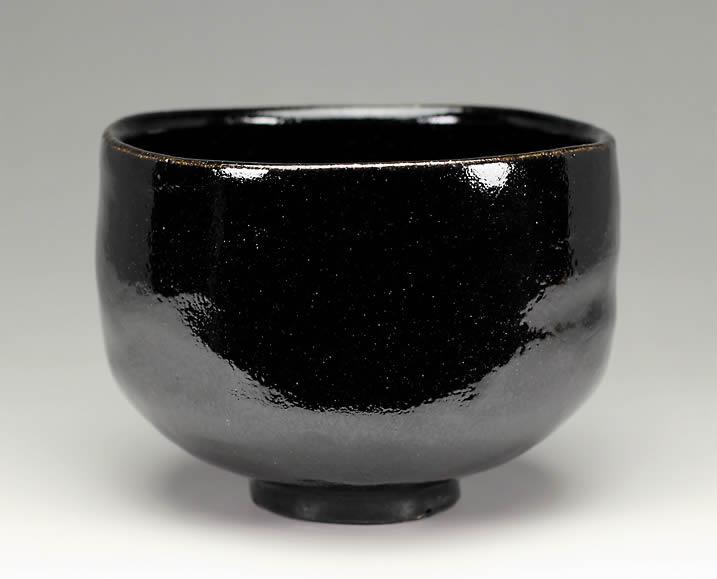 楽入窯製 黒楽茶碗「東陽坊」写【定番】