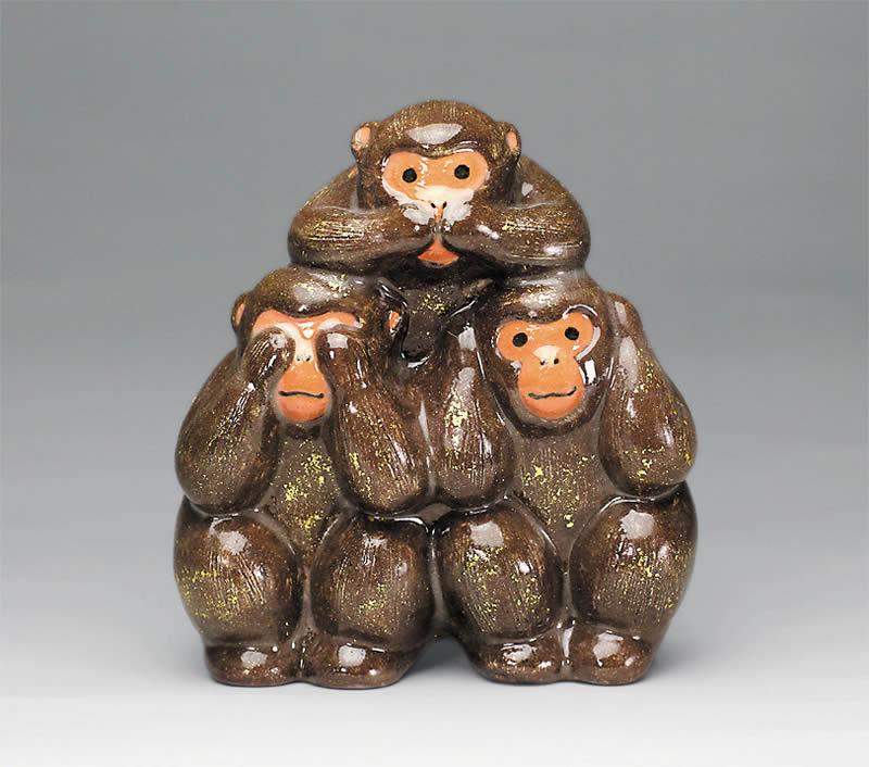2016年初春作品 三猿置物