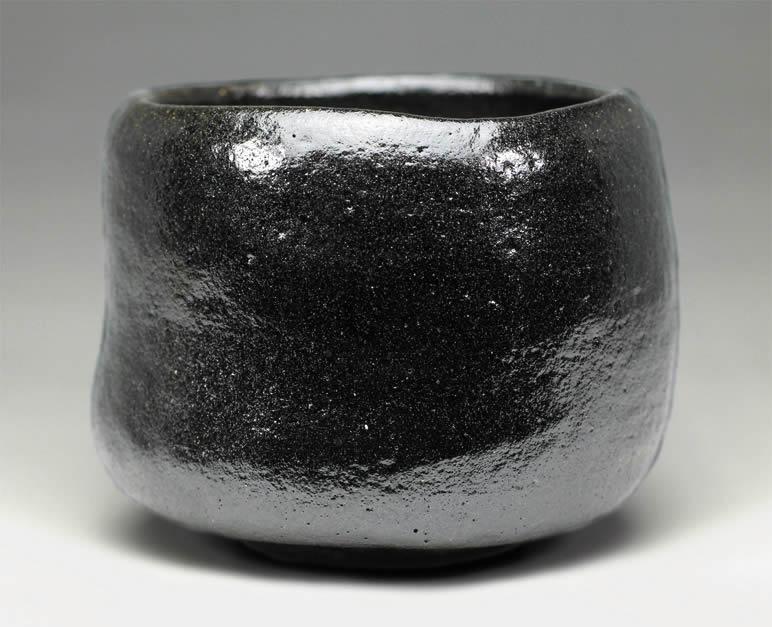 2016年初春作品 宗入「亀毛」写 黒楽茶碗