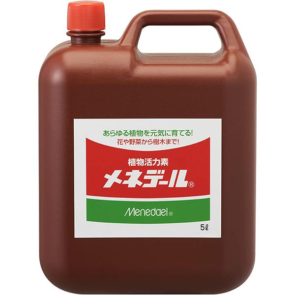 肥料 活力剤 鉄 メネデール 5L×3個 ケース販売